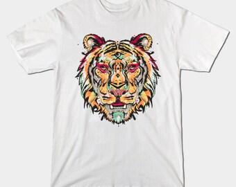 TIGRE F - men's t-shirt - t-shirt - S, M, L, XL, XXL, 3XL, 4XL, 5XL