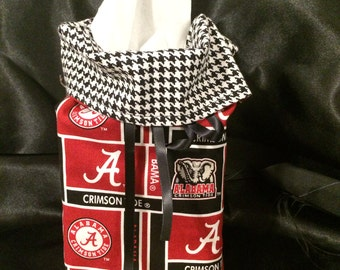 Alabama Roll Tide Kleenex Holder