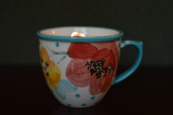Pioneer Woman Mug Candle 100 All Natural Soy Eco Friendly