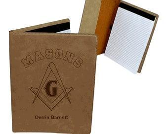 Masonic Leatherette Portfolio