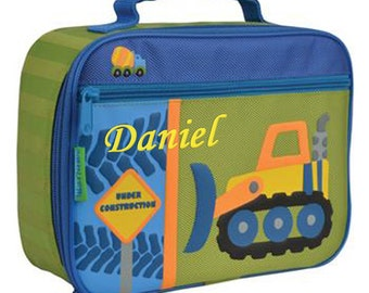 Personalised Children's Lunch Boxes - Construction
