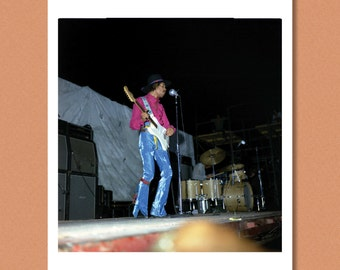 JIMI HENDRIX - Live, Miami Pop Festival 1968 - Giclée/Photo print