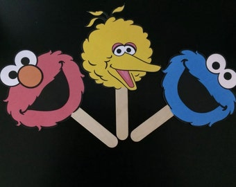 Sesame Street Party Favors (6)