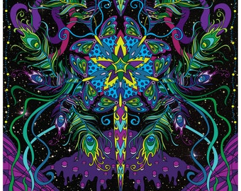 String Cheese Incident Red Rocks 2016 Poster