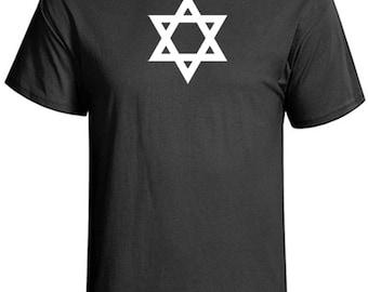 Star of David T-Shirt  Magen David Hebrew Shirt