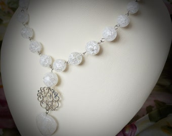 Rock Crystal (Pure Quartz) Necklace | Heartbeat
