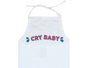 cry baby HALTER TOP crop t shirt strappy womens girls fun tumblr hipster grunge goth 90s retro indie festival japanese kawaii cute pink tear