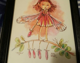 Little fairy girl print