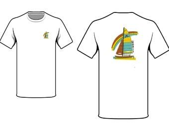 Hobie Cat 16 Art T-Shirt