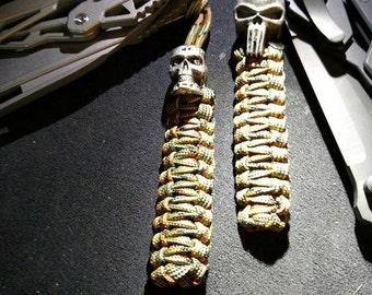 Cobra Weave Paracord Knife Lanyard