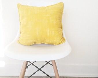 Yellow Pillow Case - Custom Pillow Case - Pillow Cover - Custom Pillow Cover