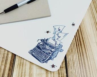 Stationery Paper - Stationery Set - Letter Set - Typewriter Stationery - Stationery - Pen Pals - Happy Mail - Writing Set - Letter Writing