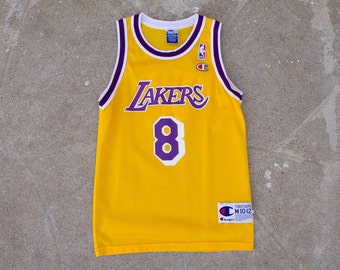 Vintage Kobe Bryant Los Angeles Lakers Rookie Jersey Sz. CH M (10-12)