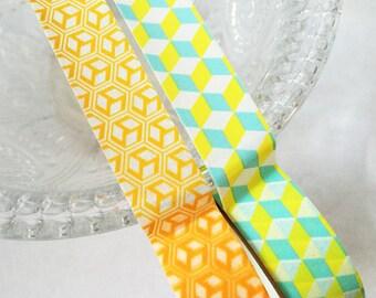 Cubic Washi Tape Set of 2