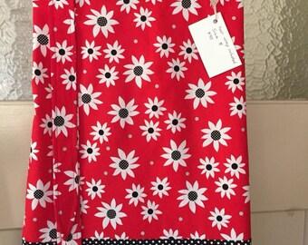 Red Daisy ladies A line skirt  size 8 AU Free headband.
