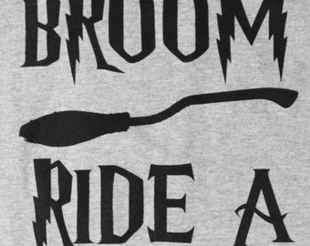 Save A Broom, Ride A Wizard T-Shirt