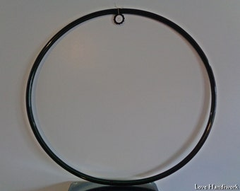 """DIY - Bare Naked Untaped Black 3/4"""" I.D. PE Hula Hoop - You can decorate yourself"""