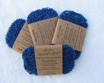 Royal Blue Soap Lift Soap Saver - Soap Dish