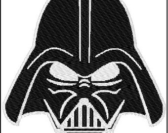 Star Wars Embroidery Design Darth Vader 3 sizes
