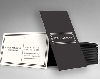 Business Card Design - Unique Calling Card Template