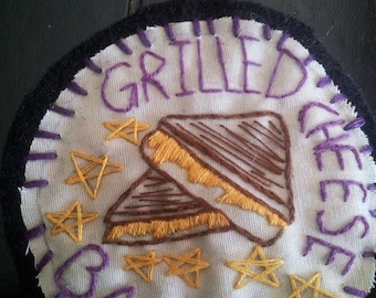 Grilled Cheese Babe Patch