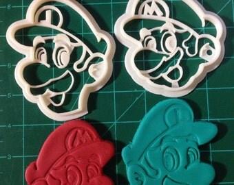 Mario and Luigi Cookie Cutter