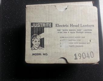 Justrite HD Electric Head Lamp #19040