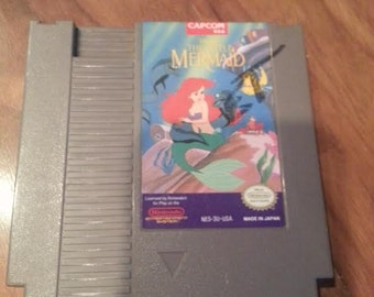 Original NES Nintendo The Little Mermaid - Capcom 1991