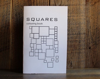 Squares Colouring Book