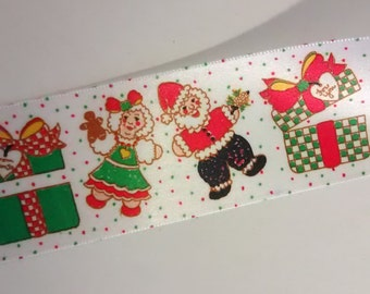 Christmas ribbon roll  50 yards