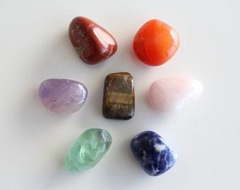 Chakra Healing Stone SET charged w/ Reiki
