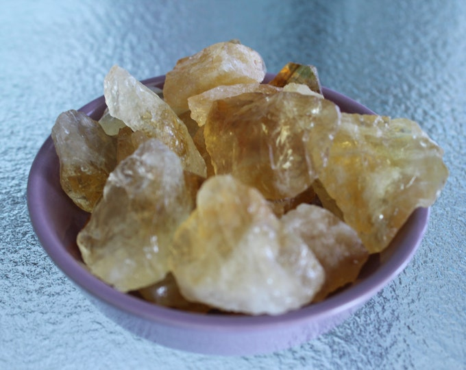 Raw Citrine Crystal Stones Perfect for Reiki, Crystal Grids, Jewelry Supplies