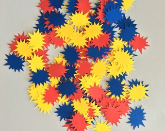 Starburst Confetti Mix | Super Hero Confetti Mix