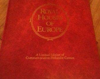 vitage  Royal Houses of Europe book