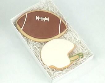 Football Cookies Gift Box - Custom - Football - Helmet