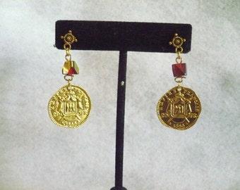 Dread pirate's treasure earrings