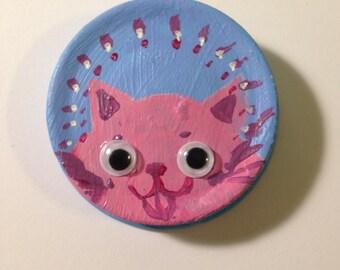 Happy Kitty magnet