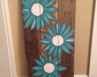 Up cycled Pallet Art