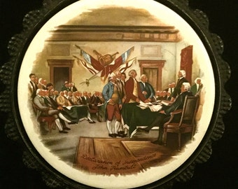 Declaration of Independence Trivet                     VG1964
