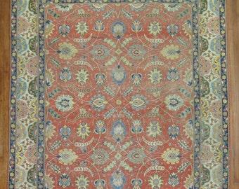 Antique Persian Tabriz Rug Size 8'10''x11'6''