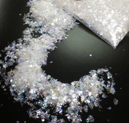 how to make fake snow for craft projects