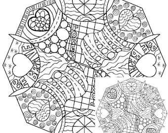 Brave coloring pages | Etsy
