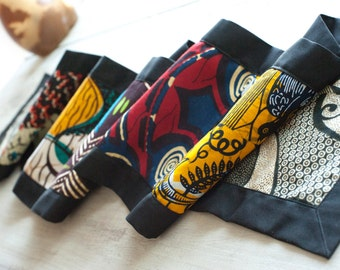 Table Runner, African Chitenge Fabric