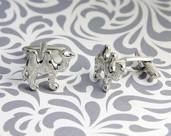 ON SALE Camel Cufflinks Desert Safari Hump Animal