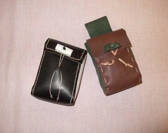 LAST 2-Leather Cigarette Case
