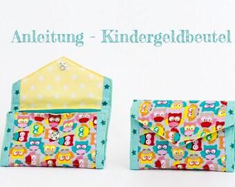 Manual - children money pouch