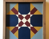 Custom Order for tophead53: New Jersey Traditional State Quilt Block Painting