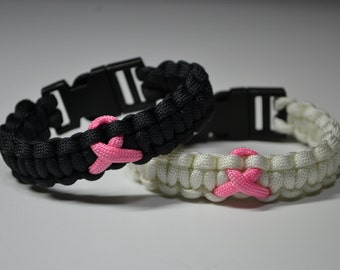 Breast Cancer Awareness - 550 Paracord Bracelet