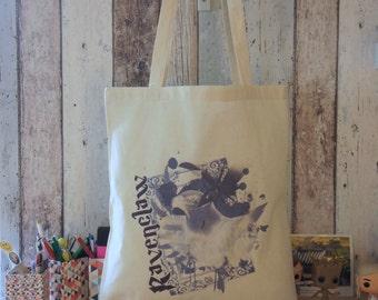 """Tote bag """"RAVENCLAW"""" - HARRY POTTER / Ravenclaw / House / Hogwarts / Luna Lovegood"""