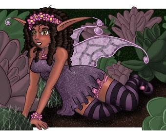Fairy Garden Print